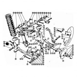 Scimitar SE4a/4b/4c Front Suspension B3