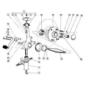 Scimitar SE4 Steering B1