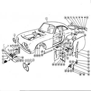 Scimitar SE4/4a/4b/4c Body Parts Q1