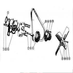 Scimitar SE4/4a/4b/4c Cooling System E2
