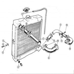 Scimitar SE4/4a/4b/4c Cooling System E1