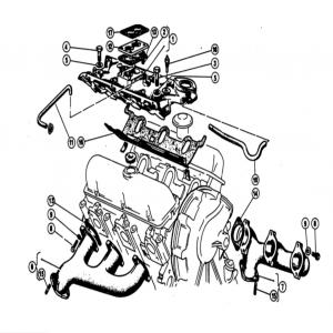 Scimitar SE4a/4b/4c Engine F4