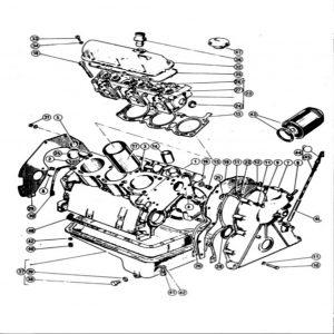 Scimitar SE4a/4b/4c Engine F1