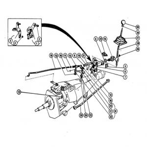 Scimitar SE4a/4b/4c Gearbox G3