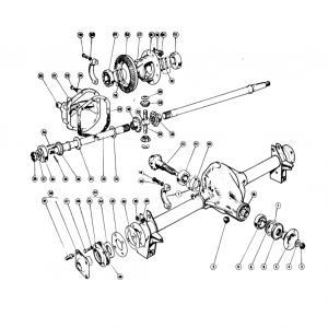 Scimitar SE5/5a Rear Axle K1