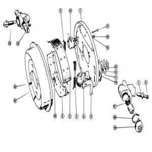 Scimitar SE4a/4b/4c Rear Brakes L2