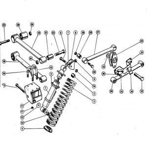 Scimitar SE4/4a/4b/4c Rear Suspension C1