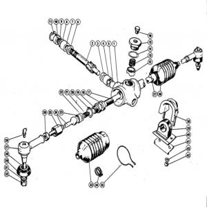 Scimitar SE4/4a/4b/4c Steering D2