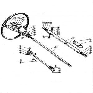 Scimitar SE4/4a/4b/4c Steering D1