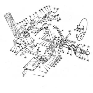 Scimitar SE5a Front Suspension B2
