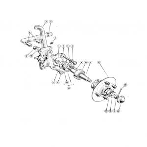 Scimitar SE6b/8 Steering B3