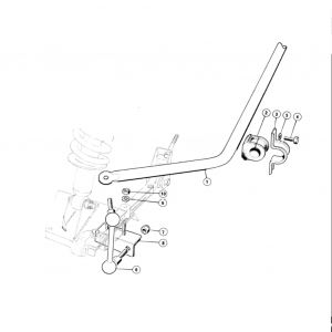 Scimitar SE6/6a Anti-Roll Bar B4
