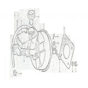 SS1/SST/Sabre Servo & Master Cylinder L4