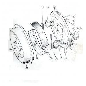 Scimitar SE6/6a Rear Brakes L2 Sheet 2 (Girling)