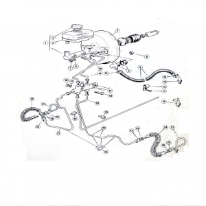 Scimitar SE6 Brakes L4 Sheet 1 (Girling)