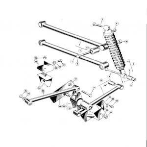 Scimitar SE6/6a Rear Suspension C1