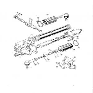 Scimitar SE6b/8 Steering D3