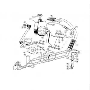 Scimitar SE6b/8 Steering D4
