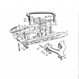 Scimitar SE6b/8 Engine F3