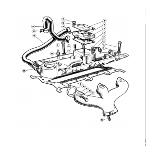 Scimitar SE6/6a Engine F3