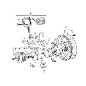Scimitar SE6/6a Engine F4