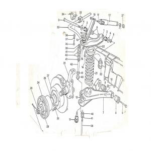 SS1/SST/Sabre Front Suspension B1