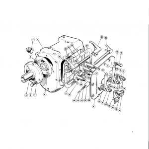 Scimitar SE6/6a Transmission G1