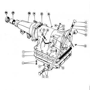 Scimitar SE5/5a Transmission G11