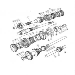 Scimitar SE6b/8 Transmission G2