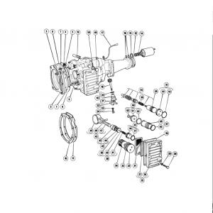 Scimitar SE6/6a Transmission G4