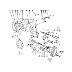 Scimitar SE6b/8 Transmission G4