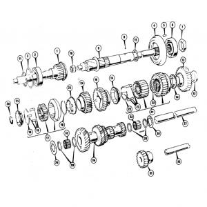 Scimitar SE5/5a Transmission G4