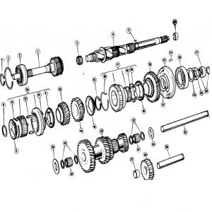 Scimitar SE5/5a Transmission G8