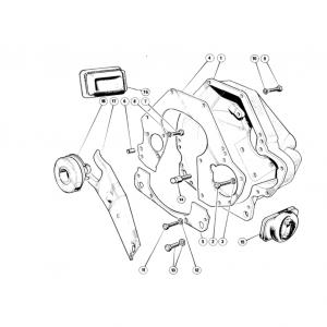 Scimitar SE6/6a Clutch & Pedals H1