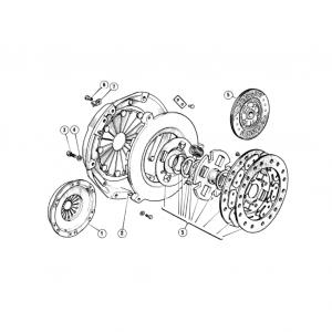 Scimitar SE6/6a Clutch & Pedals H2