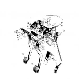 Middlebridge Scimitar Clutch & Pedals H4