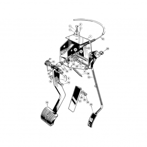 Middlebridge Scimitar Clutch & Pedals H5
