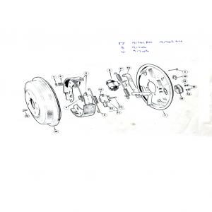Scimitar SE6/6a Rear Brakes L2 (Lockheed)