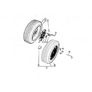 Scimitar SE6b/8 Road Wheels M1
