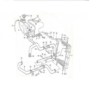 SS1/SST/Sabre Cooling System E5