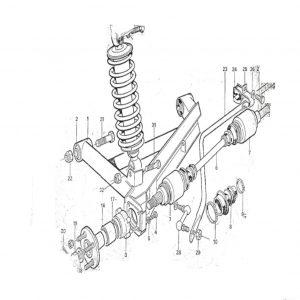 SS1/SST/Sabre Rear Suspension C1