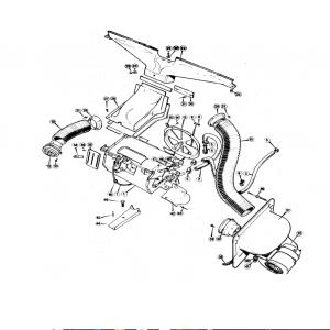 Scimitar SE5/5a Heater & Fresh Air System S1