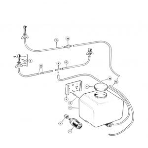 Scimitar SE6b/8 Windscreen Washers U1