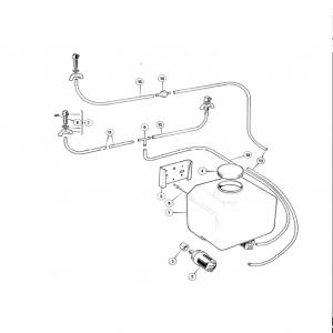 Scimitar SE6/6a Windscreen Washers U1