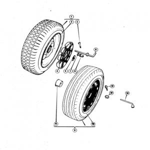 Scimitar SE5/5a Road Wheels M1