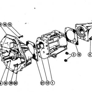 Scimitar SE4/4a/4b/4c Gearbox G1