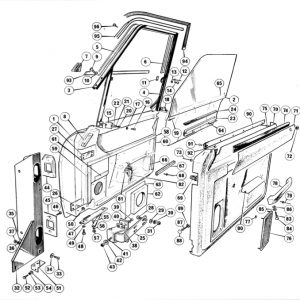 Middlebridge Scimitar Door Components Q5