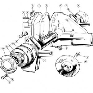 Scimitar SE6b/8 Rear Axle K1