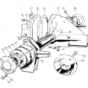Scimitar SE6/6a Rear Axle K1/1