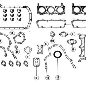 Scimitar SE4a/4b/4c Engine F6